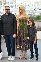 """22 May 2017 - Cannes, France - Yorgos Lanthimus, Nicole Kidman, Sunny Suljic . """"The Killing Of A Sacred Deer"""" Photocall - 70th Annual Cannes Film Festival held at Palais des Festivals. Photo Credit: Jan Sauerwein/face to face/AdMedia"""