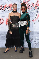 Adwoa Aboah &amp; IAMDDB arriving for the Serpentine Summer Party 2018, Hyde Park, London, UK. <br /> 19 June  2018<br /> Picture: Steve Vas/Featureflash/SilverHub 0208 004 5359 sales@silverhubmedia.com