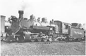 K-37 #492 in Salida yard.<br /> D&amp;RGW  Salida, CO  8/1940