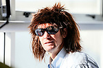 """Greg Murphy. Holden New Zealand, """"Mullet Amnesty Day"""", trade your mullet for a Holden Astra, West City Holden, Auckland, New Zealand, Saturday 1st April 2017. Photo: Simon Watts/www.bwmedia.co.nz"""