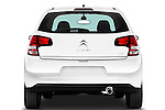 Straight rear view of a 2010 Citroen C3 Exclusive 5 Door Hatchback