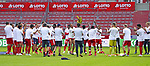 Sport: Fussball: 1. Bundesliga:: nphgm001:  Saison 19/20: 33. Spieltag: 1. FSV Mainz 05 vs SV Werder Bremen 20.06.2020<br />Mainzer Schlussjubel nach dem Klassenerhalt,<br />Foto: Bratic/rscp-photovia/via gumzmedia/nordphoto<br /><br />DFL regulations prohibit any use of photographs as image sequences and/or quasi-video.<br />EDITORIAL USE ONLY.<br />National and international News-Agencies OUT.<br /><br /> DFL REGULATIONS PROHIBIT ANY USE OF PHOTOGRAPHS AS IMAGE SEQUENCES AND OR QUASI VIDEO<br />EDITORIAL USE ONLY<br />NATIONAL AND INTERNATIONAL NEWS AGENCIES OUT