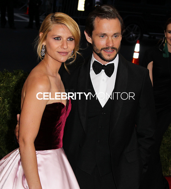 "NEW YORK CITY, NY, USA - MAY 05: Claire Danes, Hugh Dancy at the ""Charles James: Beyond Fashion"" Costume Institute Gala held at the Metropolitan Museum of Art on May 5, 2014 in New York City, New York, United States. (Photo by Xavier Collin/Celebrity Monitor)"