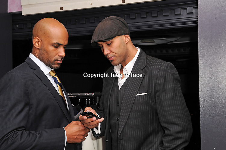 Actor/ Co-Founder of ALFA Boris Kodjoe and Patrick Kodjoe attend an evening of fun and luxury fashion at South Street Restaurant & Bar in Miami, Florida, 07.02.2013...Credit: MediaPunch/face to face..- Germany, Austria, Switzerland, Eastern Europe, Australia, UK, USA, Taiwan, Singapore, China, Malaysia and Thailand rights only -