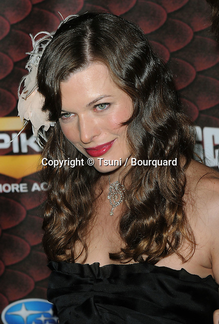Milla Jovovich -<br /> Spike TV Scream 2008 Awards at the Greek Theatre In Los Angeles.