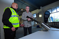 NZ gun buyback scheme. Trentham Racecourse in Upper Hutt, New Zealand on Thursday, 4 July 2019. Photo: Dave Lintott / lintottphoto.co.nz