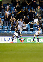 GOAL - Millwall's Tom Elliott makes it all square during the Sky Bet Championship match between Millwall and Ipswich Town at The Den, London, England on 15 August 2017. Photo by Carlton Myrie.