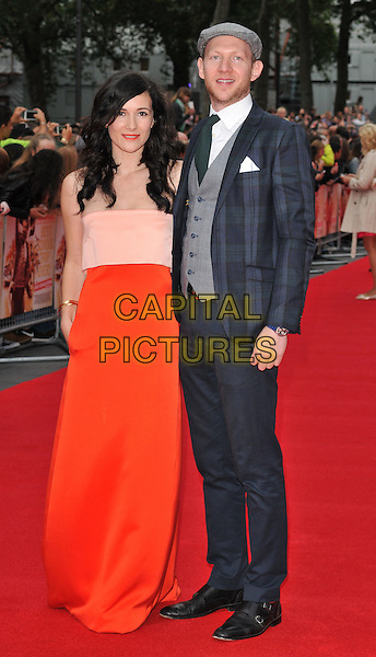Sarah Solemani &amp; Daniel Ingram attend the &quot;The Bad Education Movie&quot; world film premiere, Vue West End cinema, Leicester Square, London, England, UK, on Thursday 20 August 2015. <br /> CAP/CAN<br /> &copy;Can Nguyen/Capital Pictures