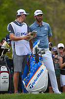 Dustin Johnson (USA) looks over his tee shot on 6 during round 4 of the 2019 PGA Championship, Bethpage Black Golf Course, New York, New York,  USA. 5/19/2019.<br /> Picture: Golffile | Ken Murray<br /> <br /> <br /> All photo usage must carry mandatory copyright credit (© Golffile | Ken Murray)