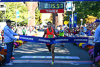 Eversource Hartford Marathon Men's Winner Jonas Hampton 10/10/2015