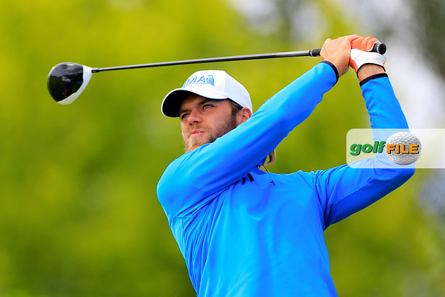 Johan Carlsson (SWE) during the ProAm ahead of the Lyoness Open powered by Organic+ played at Diamond Country Club, Atzenbrugg, Austria. 8-11 June 2017 April.<br /> 07/06/2017.<br /> Picture: Golffile | Phil Inglis<br /> <br /> <br /> All photo usage must carry mandatory copyright credit (&copy; Golffile | Phil Inglis)