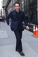 NEW YORK, NY - APRIL 5: Matthew Macfadyen seen at Build Series in New York City on April 5, 2018. <br /> CAP/MPI/RW<br /> &copy;RW/MPI/Capital Pictures