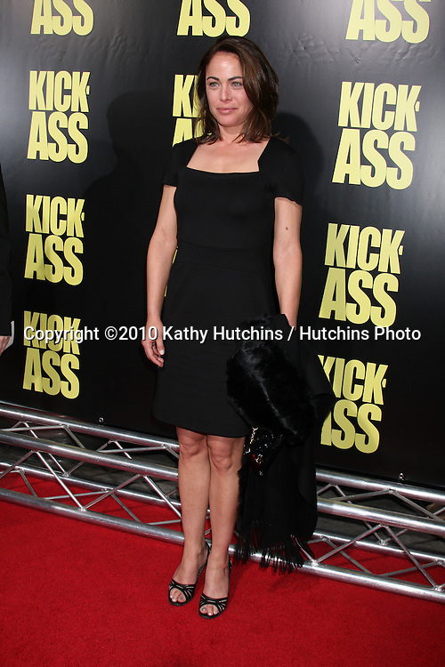 """Yancy Butler.arrives at  the """"Kick-Ass"""" Premiere.ArcLight Dome Theater.Los Angeles, CA.April 13, 2010.©2010 Kathy Hutchins / Hutchins Photo..."""