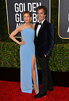 LOS ANGELES, USA. January 06, 2020: Renee Zellweger & Rupert Goold arriving at the 2020 Golden Globe Awards at the Beverly Hilton Hotel.<br /> Picture: Paul Smith/Featureflash
