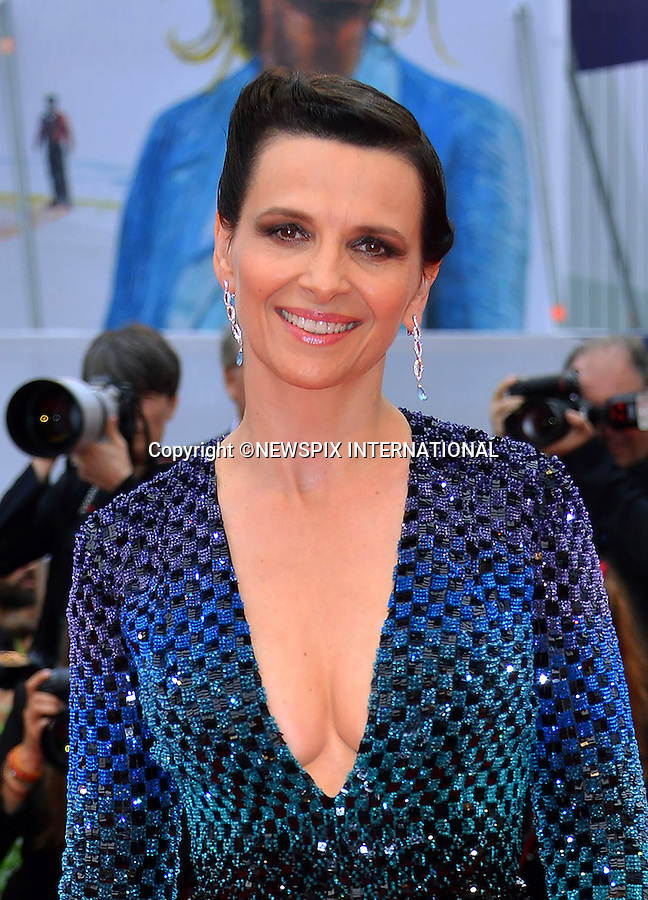 05.09.2015; Venezia, Italy: JULIETTE BINOCHE<br />atttends the &quot;L'Attesa&quot; premiere at the 72nd Venice International Film Festival.<br />Mandatory Credit Photo: &copy;NEWSPIX INTERNATIONAL<br /><br />**ALL FEES PAYABLE TO: &quot;NEWSPIX INTERNATIONAL&quot;**<br /><br />PHOTO CREDIT MANDATORY!!: NEWSPIX INTERNATIONAL(Failure to credit will incur a surcharge of 100% of reproduction fees)<br /><br />IMMEDIATE CONFIRMATION OF USAGE REQUIRED:<br />Newspix International, 31 Chinnery Hill, Bishop's Stortford, ENGLAND CM23 3PS<br />Tel:+441279 324672  ; Fax: +441279656877<br />Mobile:  0777568 1153<br />e-mail: info@newspixinternational.co.uk
