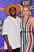Lindsey Vonn &amp; P.K. Subban at the Nickelodeon Kids' Choice Sports Awards 2018 at Barker Hangar, Santa Monica, USA 19 July 2018<br /> Picture: Paul Smith/Featureflash/SilverHub 0208 004 5359 sales@silverhubmedia.com