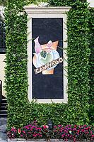 Campiello restaurant exterior, Naples, Florida, USA.