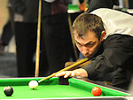 Alan Wilton playing in the Irish Pool Association Tour in the Boyne Valley hotel. Photo: Colin Bell/pressphotos.ie