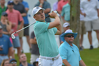 Jordan Spieth (USA) watches his tee shot on 3 during round 3 of The Players Championship, TPC Sawgrass, at Ponte Vedra, Florida, USA. 5/12/2018.<br /> Picture: Golffile | Ken Murray<br /> <br /> <br /> All photo usage must carry mandatory copyright credit (&copy; Golffile | Ken Murray)