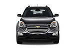 Car photography straight front view of a 2016 Chevrolet Equinox LT 5 Door Suv Front View