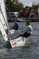 20th SPA Regatta - Medemblik.26-30 May 2004..Copyright free image for editorial use. Please credit Peter Bentley..Champion's Cup racing
