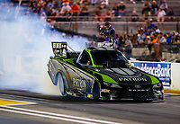 Sep 29, 2017; Madison , IL, USA; NHRA funny car driver Alexis DeJoria during qualifying for the Midwest Nationals at Gateway Motorsports Park. Mandatory Credit: Mark J. Rebilas-USA TODAY Sports