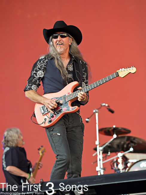 Patrick Simmons of The Doobie Brothers performs during Day 2 of the Orlando Calling music festival at Citrus Bowl Park in Orlando, Florida on November 13, 2011.