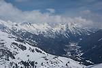 Gampen area above St Anton Ski Area, Austria,