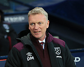 3rd December 2017, Etihad Stadium, Manchester, England; EPL Premier League football, Manchester City versus West Ham United; David Moyes manager of West Ham