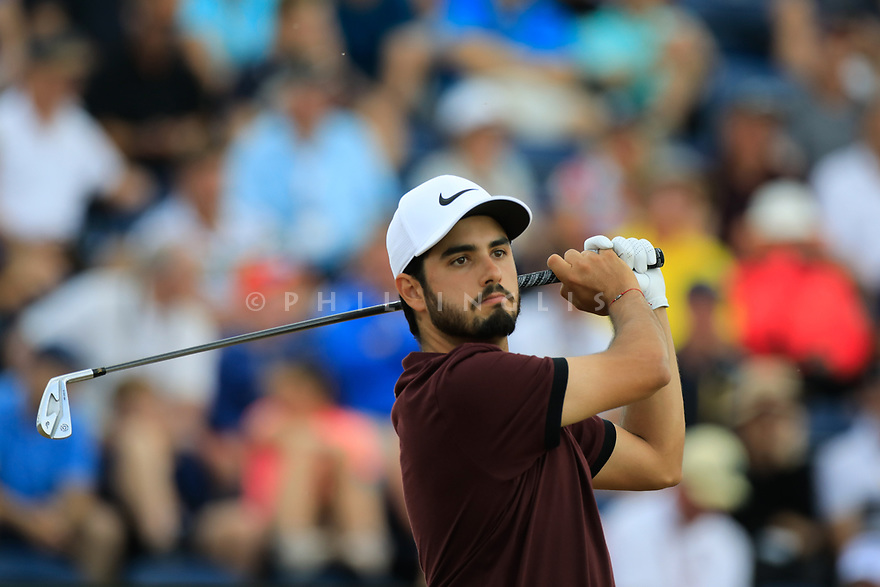 Abraham Ancer (MEX) during the first round of the 147th Open Championship played at Carnoustie Links, Angus, Scotland. 19/07/2018<br /> Picture: Golffile   Phil Inglis<br /> <br /> All photo usage must carry mandatory copyright credit ©Phil INGLIS)