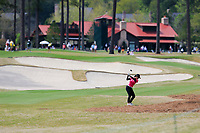 Jaravee Boonchant (THA) on the 9th during the second round of the Augusta National Womans Amateur 2019, Champions Retreat, Augusta, Georgia, USA. 04/04/2019.<br /> Picture Fran Caffrey / Golffile.ie<br /> <br /> All photo usage must carry mandatory copyright credit (&copy; Golffile | Fran Caffrey)