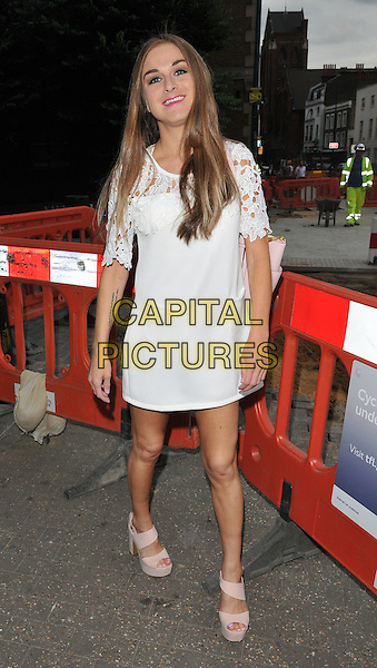 LONDON, ENGLAND - JULY 23: Nikki Grahame attends the RUComingOut.com summer party, Royal Vauxhall Tavern, Kennington Lane, on Thursday July 23, 2015 in London, England, UK.  <br /> CAP/CAN<br /> &copy;Can Nguyen/Capital Pictures