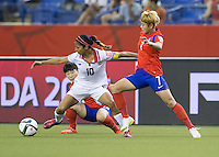 Costa Rica vs Korea Republic, June 13, 2015