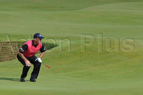 15/07/10 Sandy Lyle (SCO) in action  on the Old Course , St  Andrews, Fife, Scotland in the first round of  British Open Championship