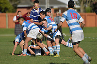 U15 Rugby - St Patrick's Silverstream v St Patrick's College Wellington at St Patrick's Silverstream, Upper Hutt, New Zealand on Wednesday 26 July 2017.<br /> Photo by Masanori Udagawa. <br /> www.photowellington.photoshelter.com