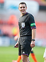Referee Euan Norris.