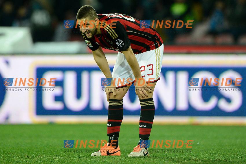 Adel Taarabt Milan<br /> Napoli 08-02-2014 Stadio San Paolo - Football 2013/2014 Serie A. Napoli - Milan Foto Insidefoto