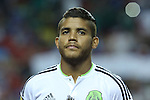 22 July 2015: Jonathan dos Santos (MEX). The Panama Men's National Team played the Mexico Men's National Team at the Georgia Dome in Atlanta, Georgia in a 2015 CONCACAF Gold Cup semifinal match. Mexico won the game 2-1 after extra time.