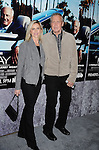 "HOLLYWOOD, CA - MARCH 22: Lee Majors and wife Faith Majors attend HBO's ""His Way"" Los Angeles Premiere at Paramount Theater on the Paramount Studios lot on March 22, 2011 in Hollywood, California."