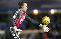 Birmingham City's Lee Camp<br /> <br /> Photographer Mick Walker/CameraSport<br /> <br /> The EFL Sky Bet Championship - Birmingham City v Preston North End - Saturday 1st December 2018 - St Andrew's - Birmingham<br /> <br /> World Copyright © 2018 CameraSport. All rights reserved. 43 Linden Ave. Countesthorpe. Leicester. England. LE8 5PG - Tel: +44 (0) 116 277 4147 - admin@camerasport.com - www.camerasport.com