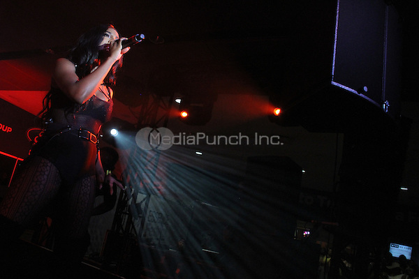 NEW ORLEANS, LOUISIANA - JULY 7, 2014<br /> <br /> Sevyn performs at the 20th anniversary of the Essence Festival at the Mercedes Benz Superdome, July 6, 2014 in New Orleans, Louisiana Walik Goshorn/MediaPunch