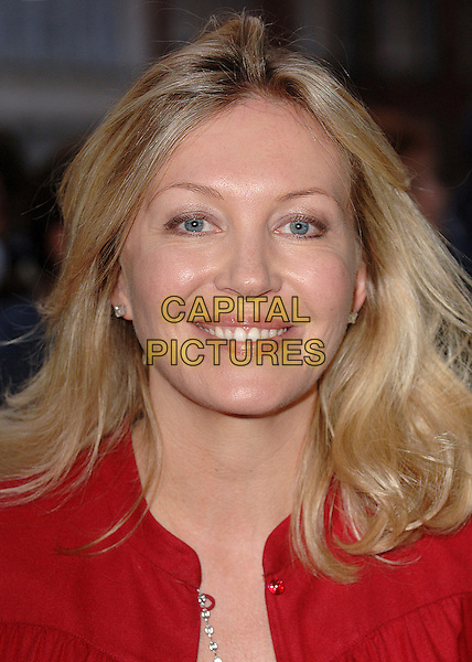 """KIRSTY YOUNG.attending the UK premiere of the third chapter in the Jason Bourne saga """"The Bourne Ultimatum"""",.Odeon Leicester Square, London,15th August 2007..portrait headshot.CAP/ BEL.©Tom Belcher/Capital Pictures."""
