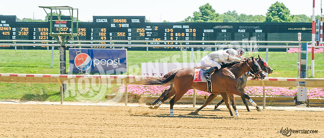 Unbolted winning at Delaware Park on 8/3/15