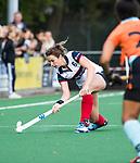 HUIZEN  -   Vivianne Schuurman (HUI) , hoofdklasse competitiewedstrijd hockey dames, Huizen-Groningen (1-1)   COPYRIGHT  KOEN SUYK