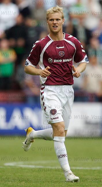 Juho Makela, Hearts.stock season 2006-2007.pic willie vass