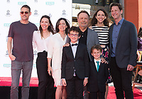 LOS ANGELES, USA. April 12, 2019: Billy Crystal, Janice Crystal & Family at the hand & footprint ceremony honoring Billy Crystal at the TCL Chinese Theatre.<br /> Picture: Paul Smith/Featureflash