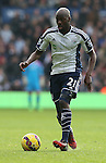 Youssuf Mulumbu of West Bromwich Albion  - Barclays Premier League - WBA vs Newcastle Utd - Hawthorns Stadium - West Bromwich - England - 9th November 2014  - Picture Simon Bellis/Sportimage