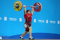 Nanjing 2014 Halterofilia +63kg damas