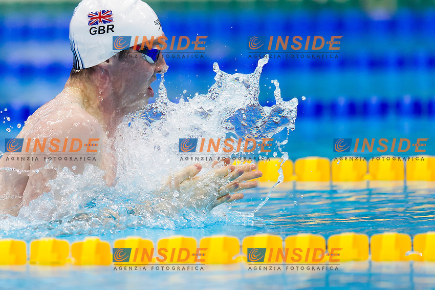 MURDOCH Ross GBR gold medal<br /> London, Queen Elizabeth II Olympic Park Pool <br /> LEN 2016 European Aquatics Elite Championships <br /> Swimming<br /> Men's 200m breaststroke final  <br /> Day 11 19-05-2016<br /> Photo Giorgio Perottino/Deepbluemedia/Insidefoto