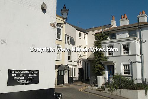 Broadstairs Kent Uk. Fort Road houses immediatly below Bleak House.